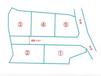 <分譲地・売土地>静岡県富士市宮島 全5区画