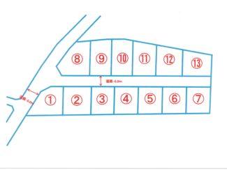 <売土地・分譲地>静岡県富士宮市宮原 全13区画