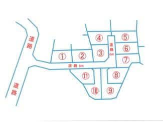 <分譲地・売土地>静岡県富士宮市山本 全11区画